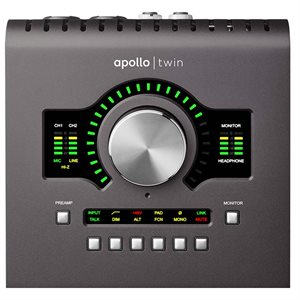 UNIVERSAL AUDIO APOLLO TWIN MK2 DUO CORE