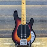 ERNIE BALL MUSIC MAN STINGRAY CLASSIC 4-STRING VINTAGE SUNBURST AVEC ÉTUI RIGIDE #B058634