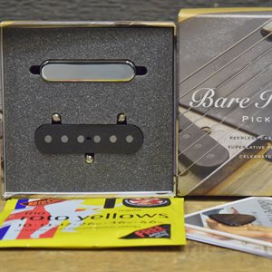 BARE KNUCKLE PICKUPS BLACKGUARD TELE SET 50 NICKEL