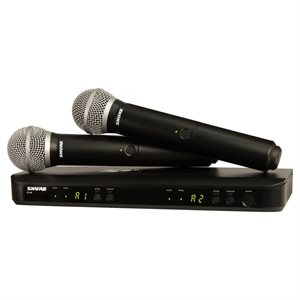 SHURE BLX288 / PG58-H10 DOUBLE WIRELESS