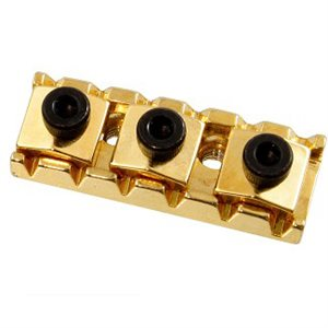 ALLPARTS BP-0026-002 1-5 / 8 IN. LOCKING GUITAR NUT – GOLD