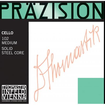 THOMASTIK PRAZISION CELLO 102 4 / 4 MEDIUM STRINGS SET