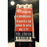 VIC FIRTH PACK 4 X 5A WOOD MUSIQUE GAGNE