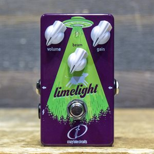 CRAZY TUBE CIRCUITS LIMELIGHT ALL ANALOG GERMANIUM FUZZ / DISTORTION EFFECT PEDAL