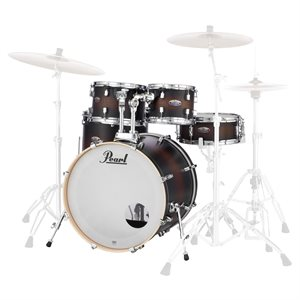 PEARL DECADE MAPLE SATIN BROWN BURST 5PCS 2218B 1007T 1208T 1616F 1455S