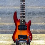 DV MARK LITTLE GUITAR CHERRY RED SUNBURST FULL SCALE SUPER COMPACT SIZE PROFESSIONAL GUITAR