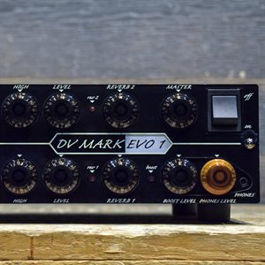 DV MARK EVO1 SIX AMPS TONE INTERFACE TWO CHANNELS 250-WATT RMS