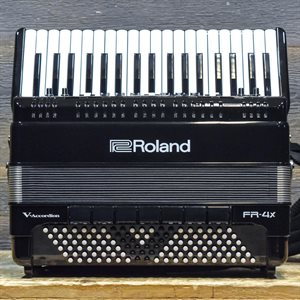 ROLAND FR-4X V-ACCORDION 120-BASS 37-KEY BLACK DIGITAL PIANO ACCORDION AVEC ÉTUI SOUPLE #Z2I0882
