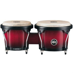MEINL HB100WRB HEADLINER WOOD BONGO 6 3 / 4+8 WINE RED BURST
