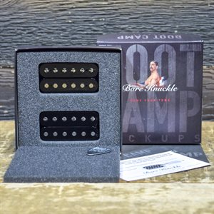 BARE KNUCKLE BOOT CAMP TRUE GRIT HUMBUCKER SET 6-STRING 50MM BLACK COILS #HUM6STG-OBLK53