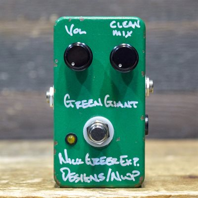 GREER AMPS GREEN GIANT FUZZ-DISTORTED BOOST WITH CLEAN MIX #785