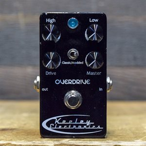 KEELEY ELECTRONICS LUNA OVERDRIVE CLASSIC-MODDED MODES OVERDRIVE