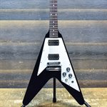 GIBSON V-FACTOR X (FLYING V 1967) 2008 EBONY AVEC ÉTUI RIGIDE #026980430