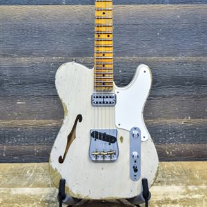 FENDER CUSTOM SHOP LIMITED EDITION HEAVY RELIC TELE CABALLO TONO LIGERO DIRTY WHITE BLONDE W / CASE #CZ527176
