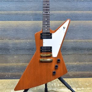 GIBSON EXPLORER '76 REISSUE LIMITED EDITION 2016 NATURAL W / CASE #160075185