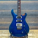 PRS STUDIO 10-TOP FLAME MAPLE 2012 FADED BLUE BURST AVEC ÉTUI RIGIDE #185508