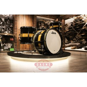 LUDWIG CLUB DATE BLACK GOLD 4MCX (13-16-22-6.5X14)