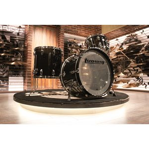LUDWIG VISTALITE 3-PIECE SMOKE ACRYLIC DRUM SET