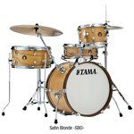 TAMA CLUB JAM 4-PIECE AVEC HARDWARE SATIN BLONDE LJL48H4 SBO