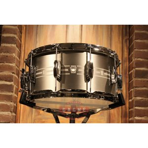LUDWIG STANDARD ETCHED STAINLESS 7X14 LSTLS0714