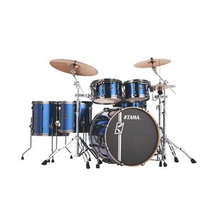 TAMA SUPERSTAR HYPERDRIVE MAPLE 6MCX INDIGO SPARKLE (22-10-12-14-16)