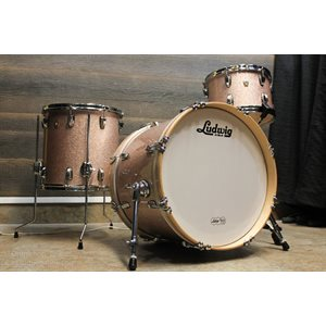 LUDWIG CLASSIC MAPLE CHAMPAGNE SPARKLE 3PCS 20-12-14