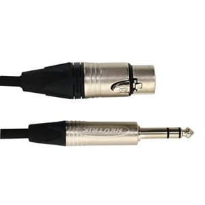 DIGIFLEX TOUR SERIES XLR F to 1 / 4 TRS NXFS-25, 25 PIEDS