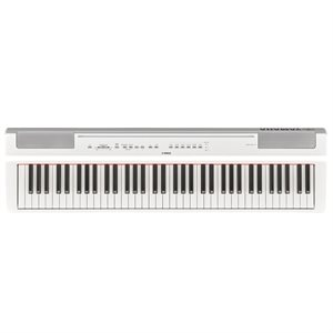 YAMAHA P121WH COMPACT 73 NOTE PORTABLE DIGITAL PIANO, WHITE