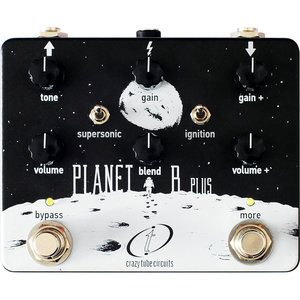 CRAZY TUBE CIRCUITS PLANET B PLUS OVERDRIVE