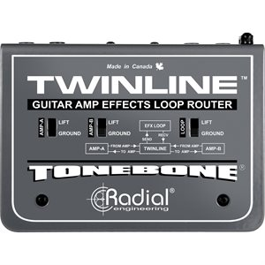 RADIAL ENGINEERING TONEBONE TWINLINE EFFECTS LOOP INTERFACE R800 1430 00