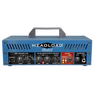 RADIAL ENGINEERING HEADLOAD V8 GUITAR AMP LOAD BOX R800 7058 00 (8-OHM)