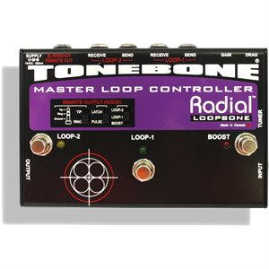 RADIAL ENGINEERING TONEBONE LOOPBONE EFFECTS LOOP CONTROLLER R800 7078