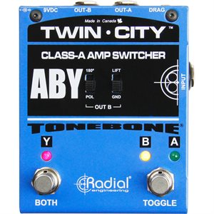 RADIAL ENGINEERING TONEBONE TWIN-CITY ACTIVE AMP SWITCHER R800 7115 00
