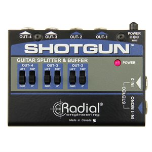 RADIAL ENGINEERING TONEBONE SHOTGUN INSTRUMENT BUFFER & SPLITTER R800 7215 00