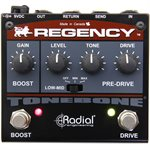 RADIAL ENGINEERING TONEBONE REGENCY OVERDRIVE AND BOOST PEDAL R800 7013 00