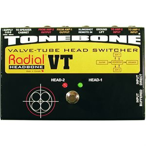 RADIAL ENGINEERING TONEBONE HEADBONE VT AMP HEAD SWITCHER R800 7082 00