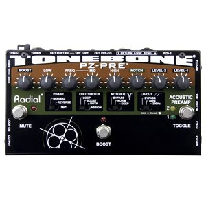 RADIAL ENGINEERING TONEBONE PZ-PRE ACOUSTIC PREAMP R800 7085 00