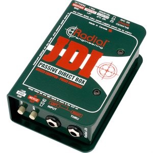 RADIAL ENGINEERING JDI PREMIUM PASSIVE DI R800 1010 00