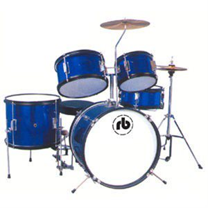 RB Drums RB-JR5-SBL 5PC Blue