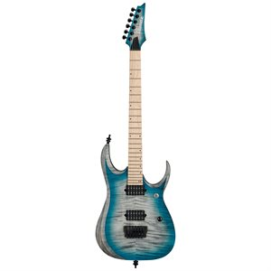 IBANEZ RGD61AL-SSB 2019 STAINED SAPPHIRE BLUE BURST