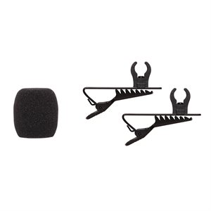 SHURE RK376 CLIP & WINDSCREEN FOR CVL LAVALIER MIC