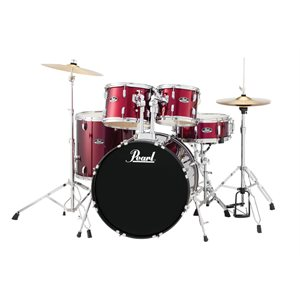 PEARL ROADSHOW 5PCE RS525SC C91 RED WINE AVEC CYMBALES / HW