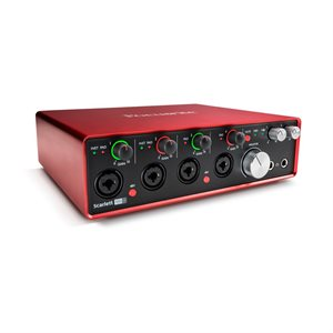 FOCUSRITE SCARLETT-18I8 (2nd Gen)