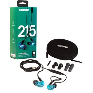 SHURE SE215 SPECIAL EDITION BLUE (UNIVERSAL CABLE)