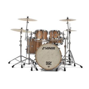 SONOR SQ2 SHELL PACK 22-10-12-16 AMERICAN WALNUT