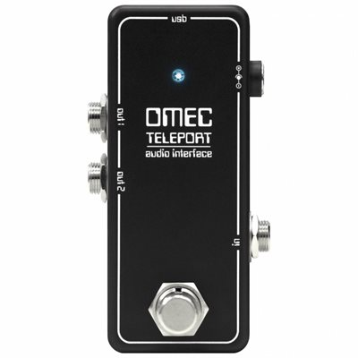 ORANGE OMEC TELEPORT UNIVERSAL CONNECTION AUDIO INTERFACE