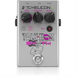 TC HELICON TALK BOX SYNTH