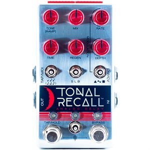 CHASE BLISS AUDIO TONAL RECALL RKM RED KNOB