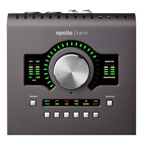 UNIVERSAL AUDIO APOLLO TWIN MK2 QUAD CORE
