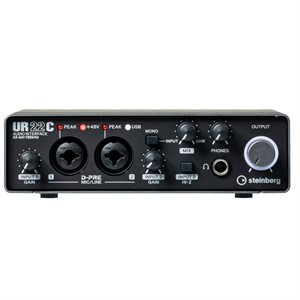 STEINBERG UR22C 2x2 USB 3.0 AUDIO INTERFACE UR-C SERIES